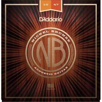 D´addario NB1047 Extra Light cuerdas para guitarra Acústica